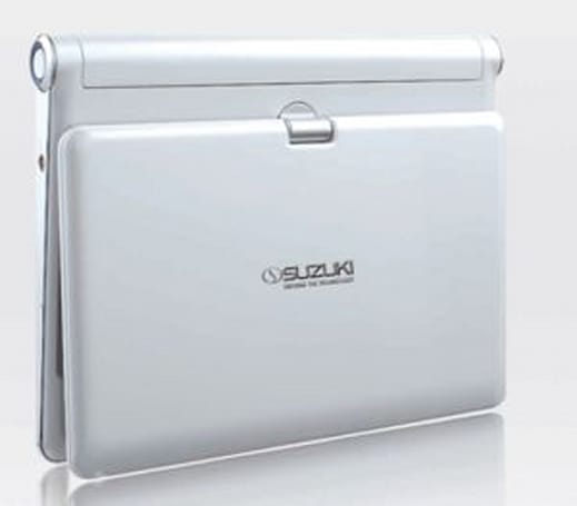 Suzuki Neutron 701 MNI ultranetbook mounts a 7-inch touchscreen