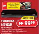 Toshiba's HD-D3 going for $100 on Boxing Day