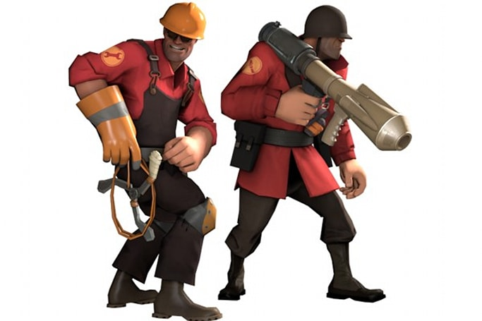 Team Fortress 2 gets to play with classic QuakeCon weapons