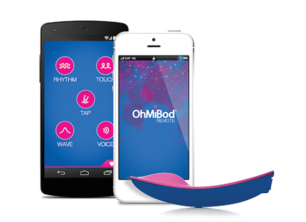 "OhMiBod's Bluetooth ""massager"" has a clever new selling point for Apple Watch"
