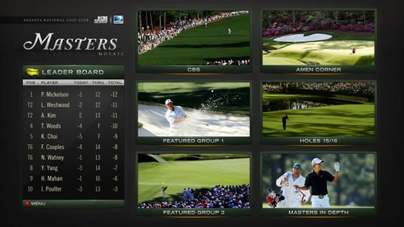 DirecTV Masters Mix channel gets a few new twists for 2011 golf tournament