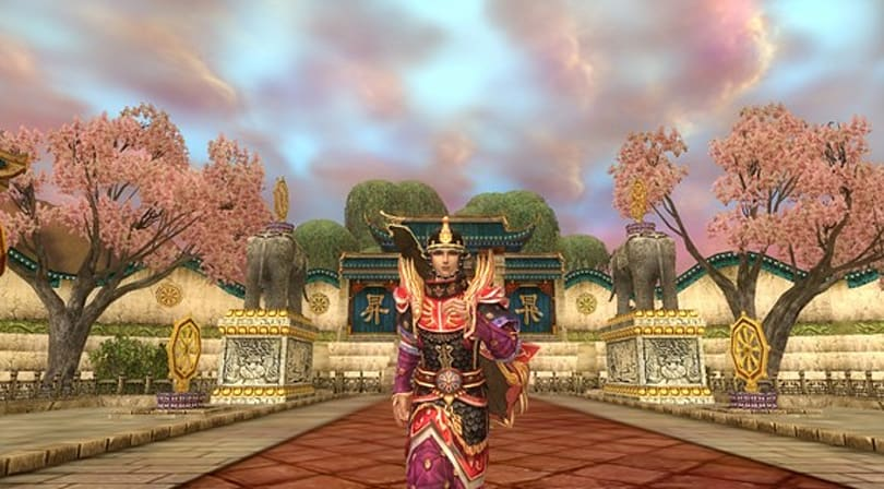 Atlantica Online adds cherry trees, XP boosts
