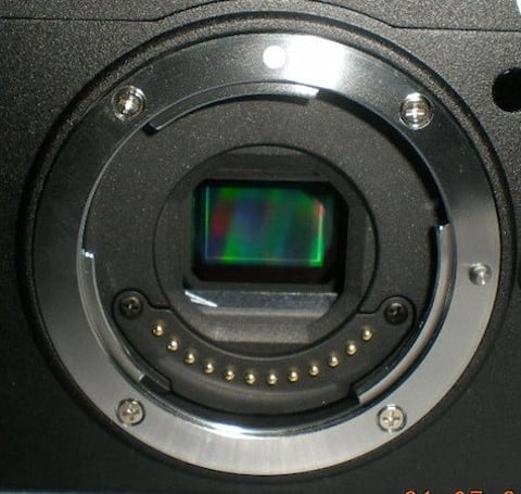 Purported shot of Nikon's mirrorless mount surfaces, camera remains shy