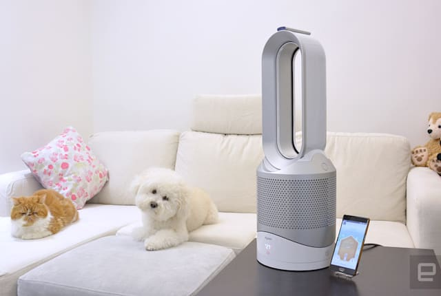Dyson Pure Hot+Cool Link 動手玩