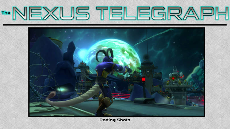 The Nexus Telegraph: In which no WildStar injuries happened