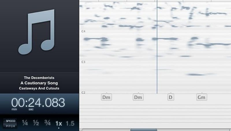 Capo 2 detects chords and tabs in your favorite songs