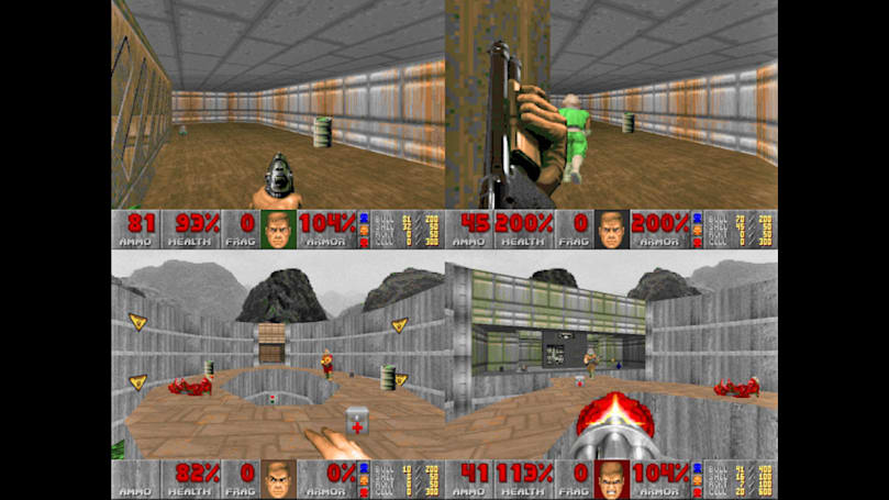 AI will frag each other with rocket launchers in 'Doom'
