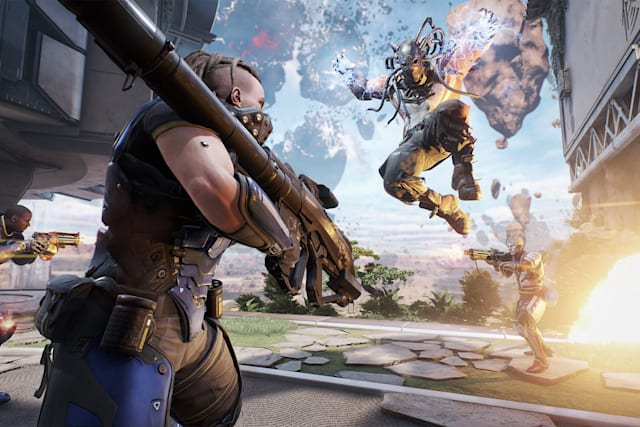 Play futuristic cops vs robbers in the 'LawBreakers' alpha