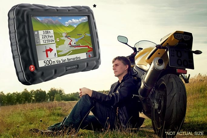 Becker unveils the Crocodile Traffic Assist Z 100 GPS for motorcycles