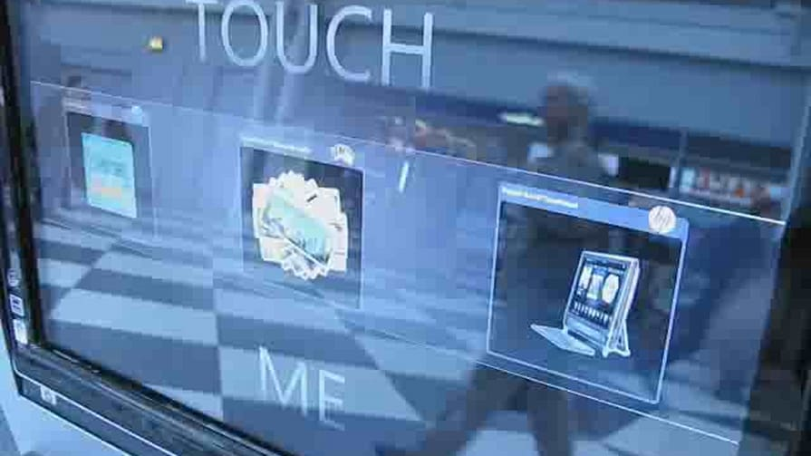 HP TouchSmart Airport Kiosk Hands-on