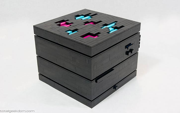 Small Lego case hides a grown-up computer inside