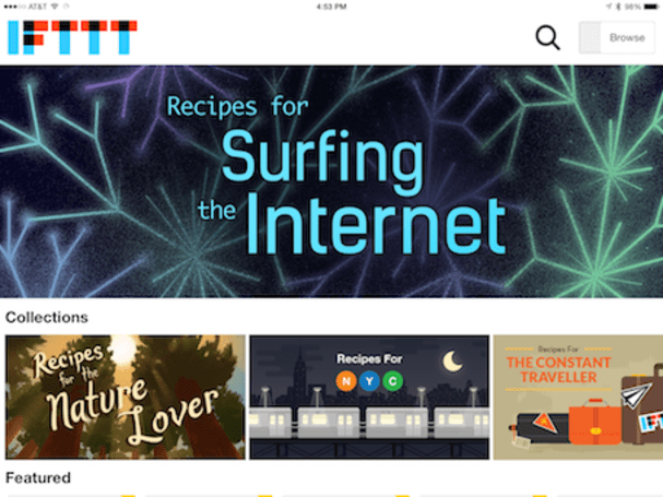 IFTTT for iPad brings service/device mashups to your favorite tablet