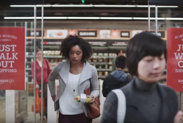 「レジで会計」もう古い? 魔法のようなコンビニ『Amazon Go』2017年にオープン