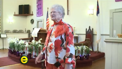 100-Year-Old Grandma Throws Down Rap Beats