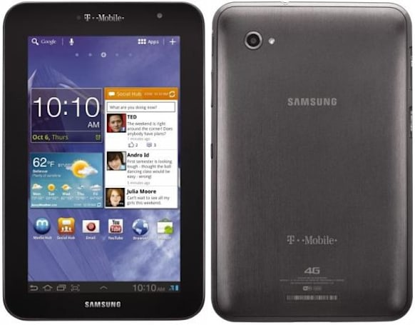 T-Mobile to carry Samsung Galaxy Tab 7.0 Plus with 4G, available November 16th for $250