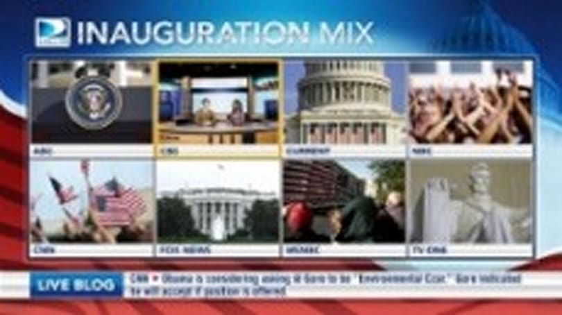 DirecTV's 2009 Inauguration Mix channel brings every angle in HD