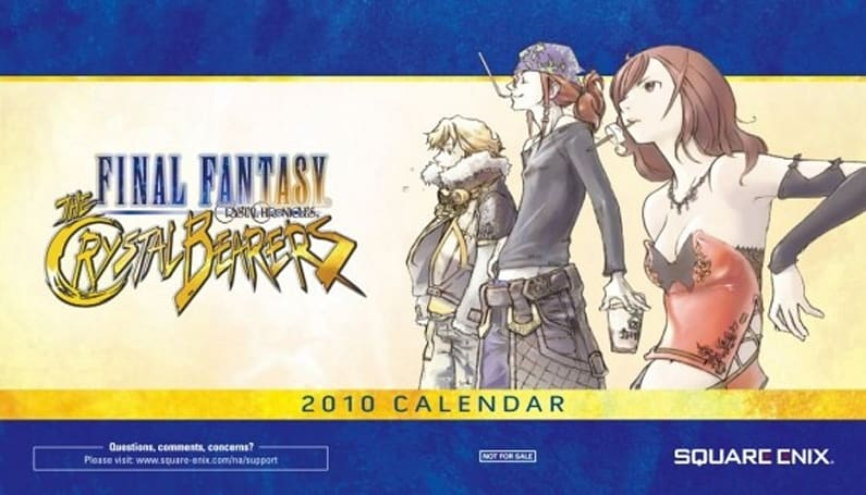 Final Fantasy Crystal Chronicles: The Crystal Bearers: The Pre-order Bonuses