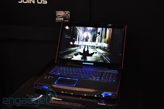 Dell Alienware M17x and Aurora hands-on