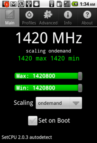 T-Mobile G2 overclocked to 1.4GHz, starts blitzing benchmarks (video)
