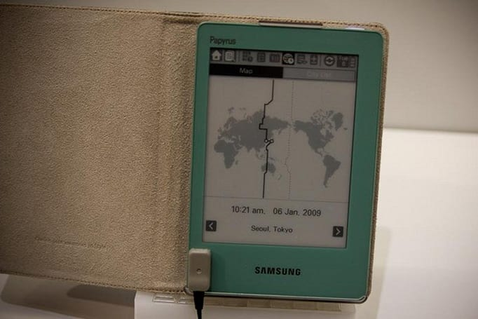 Samsung Papyrus e-book reader on track for Korean launch this summer