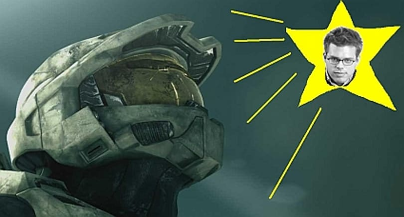 Luke Smith leaves 1UP to be Master Chief's poolboy