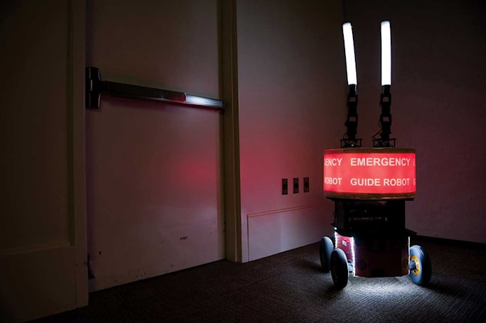 Humans trust this emergency robot more than common sense
