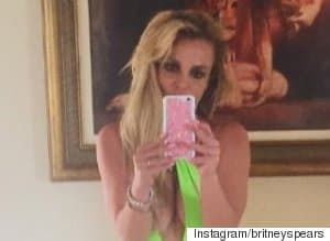 Britney Spears' Newest Swimsuit Leaves Little To The Imagination