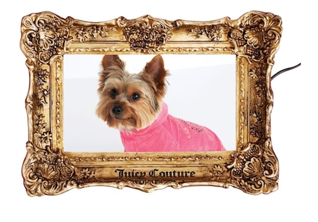 Juicy Couture makes decent looking photo frame, Dean Koontz writes pretty good novel