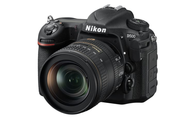 Nikon launches the D500 DSLR with 'smart connectivity'