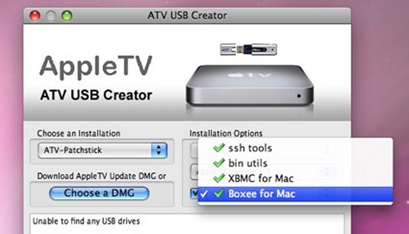 Install Boxee or XBMC on an Apple TV