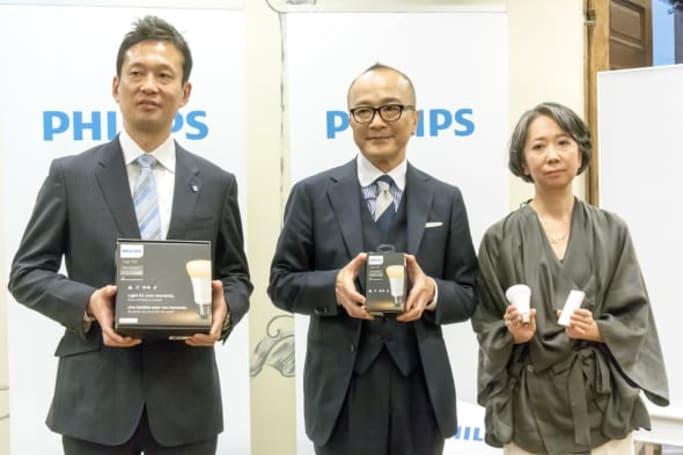 フィリップス、生活リズムを4種類の光で調節できるスマートLED照明「Philips Hue ホワイトグラデーション」を発表