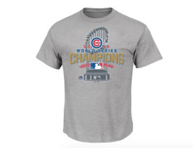 World Series champions locker room t-shirt