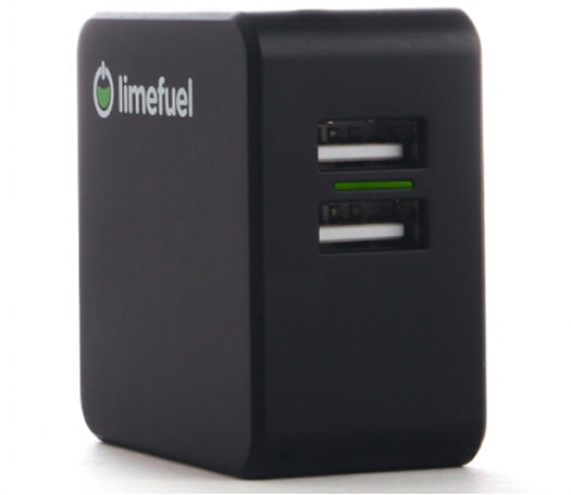 Limefuel Dual Port USB 4.8A Wall Charger: Tiny and powerful