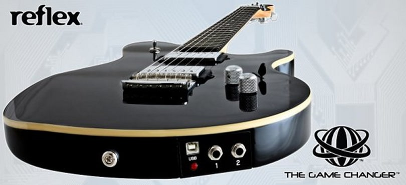 Music Man Game Changer robo guitar features 250k pickup configurations (video)