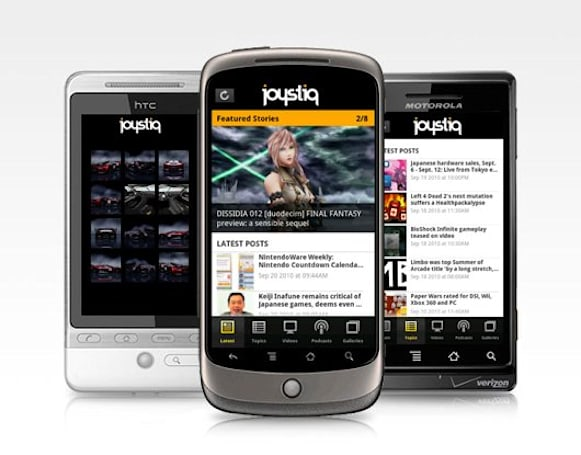 Joystiq App for Android finally available!