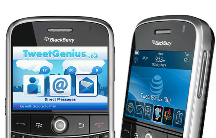 TweetGenius for BlackBerry review