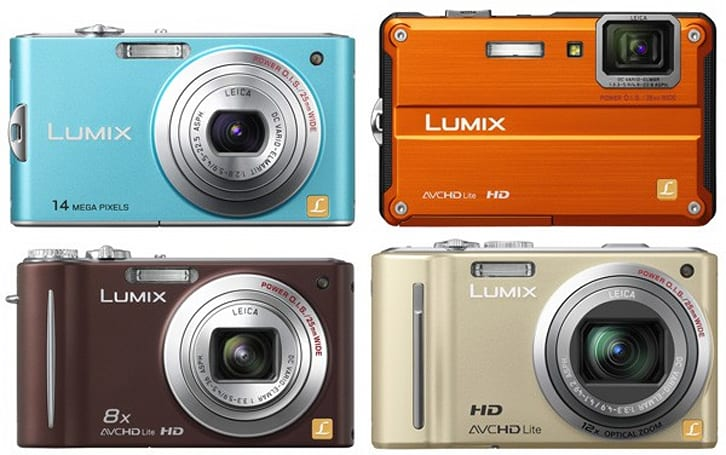 Panasonic prices Lumix DMC-TS2, DMC-ZS5, DMC-ZS7 and DMC-ZR3 cameras