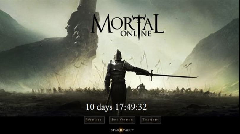 Mortal Online enters final release stage