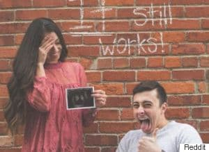 Paraplegic Man And Fiancée Share Cheeky Pregnancy Announcement