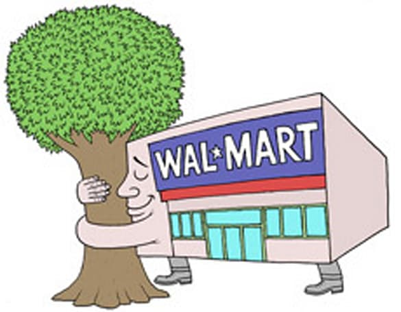 """Wal-Mart looking to sell """"sustainable electronics"""" to help Mother Earth"""