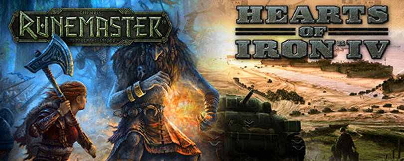 Paradox Interactive unveils Hearts of Iron 4, Norse RPG Runemaster