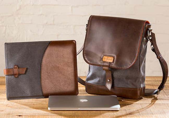 Pad & Quill's crafted leather gear bags should be at the top of your list to Santa