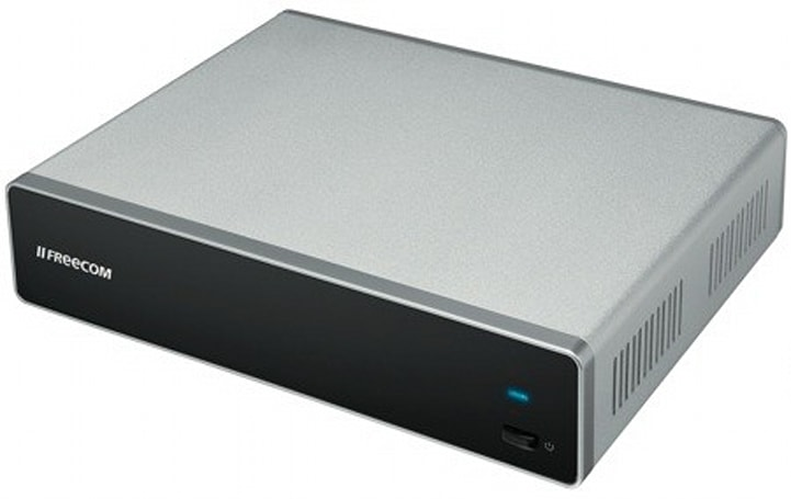 Freecom's MediaPlayer II NAS and media streamer aims high, scores low