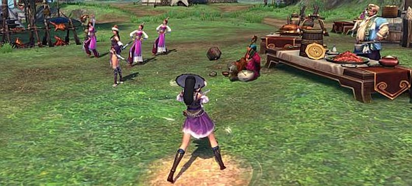 A look at the Legend of the Condor Heroes Zero beta
