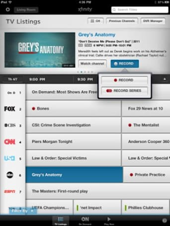 Comcast's Xfinity TV app gets UI tweaks, added VOD on iOS, tablet support on Android
