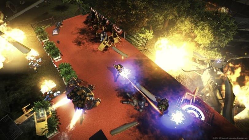 One-armed mercenary Bombshell has roots in Duke Nukem