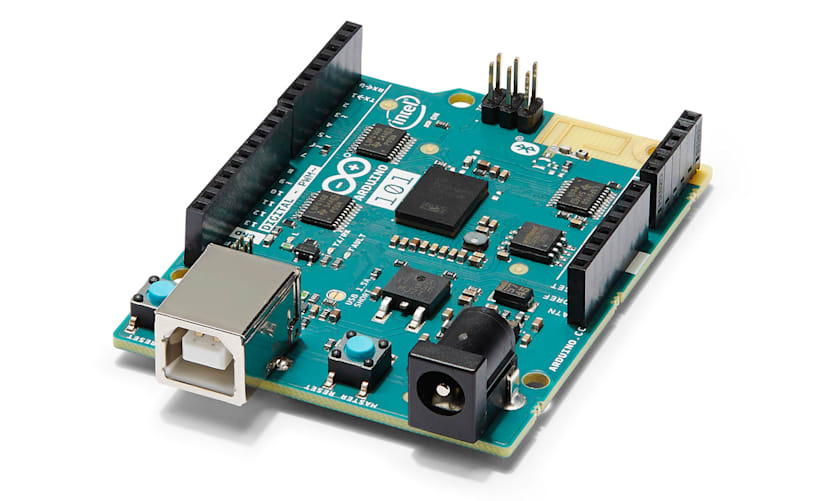 Intel Throws Its Tiny Curie Module In An Arduino Board
