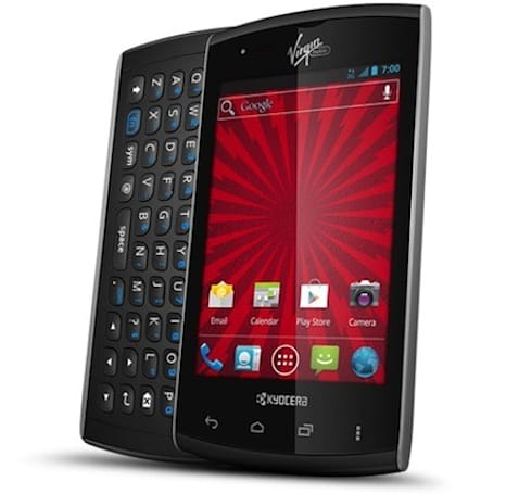 Kyocera Rise arrives on Virgin Mobile with ICS, 3.5-inch display and slide-out QWERTY keys