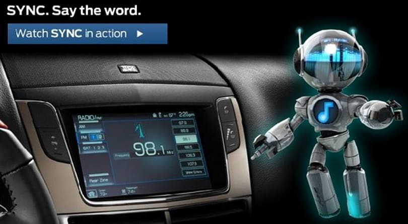 Ford's AppLink to support iPhone voice control of apps