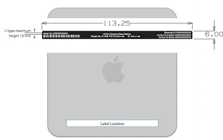 Apple AirPort Extreme refresh outed by the FCC, lends credence to Time Capsule rumors
